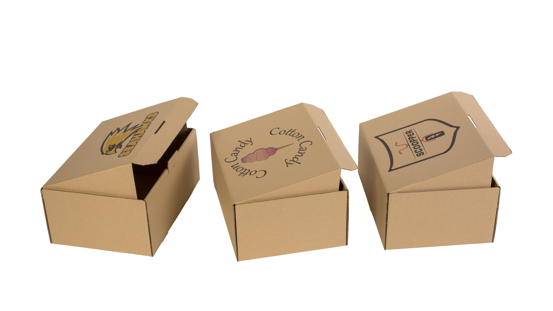 pudełka z nadrukiem - sposób na branding